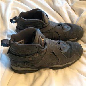 Nike Air Jordan 8 Retro GS 'Cool Grey'